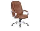 Сириус кресло С 102 PU коричневый (PU 018) экокожа (РОССИЯ)