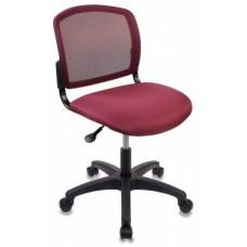 Кресло Бюрократ CH-1296NX, CHERRY спинка сетка темно-бордовый сиденье бордовый