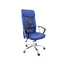 НК- 300  Z спинка синяя сетка +к/зам /сиденье синий  к/зам