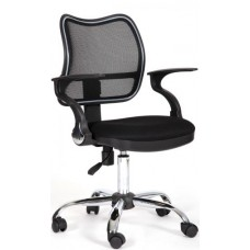 Кресло Chairman 450 хром   TW-11/TW-01 черный