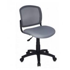 Кресло Бюрократ CH-1296NX, GREY спинка сетка ТЕМНО-СЕРЫЙ сиденье СЕРЫЙ