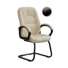 Кресло Сириус С 111/2 PU чёрный на полозьях.