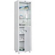 Шкаф медицинский двухстворчатый со стеклянными дверями MD 1 1657/SG
