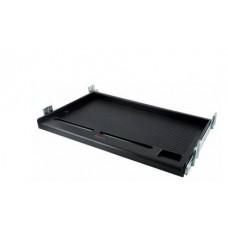 Подставка Buro KB002B черная подстольная, универсальная