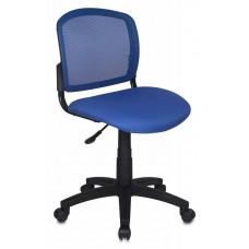 CH-296/BL/15-10 спинка сетка синий TW-05 сиденье синий 15-10 ткань крестовина пластик