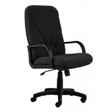 Кресло Менеджер ультро ткань КВ-14 черный