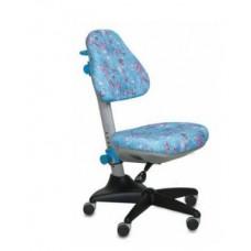 Кресло детское KD-2/BL/aqua голубой аквариум (голубой пластик ручки)