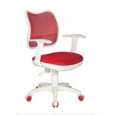 CH-W797/R/TW-97N спинка сетка красный сиденье красный ткань