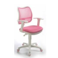 CH-W797/РК/TW-13А спинка сетка розовый сиденье розовый ткань