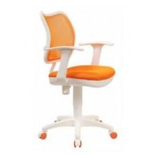 CH-W797/OR/TW-96-1 спинка сетка оранжевый сиденье оранжевый ткань